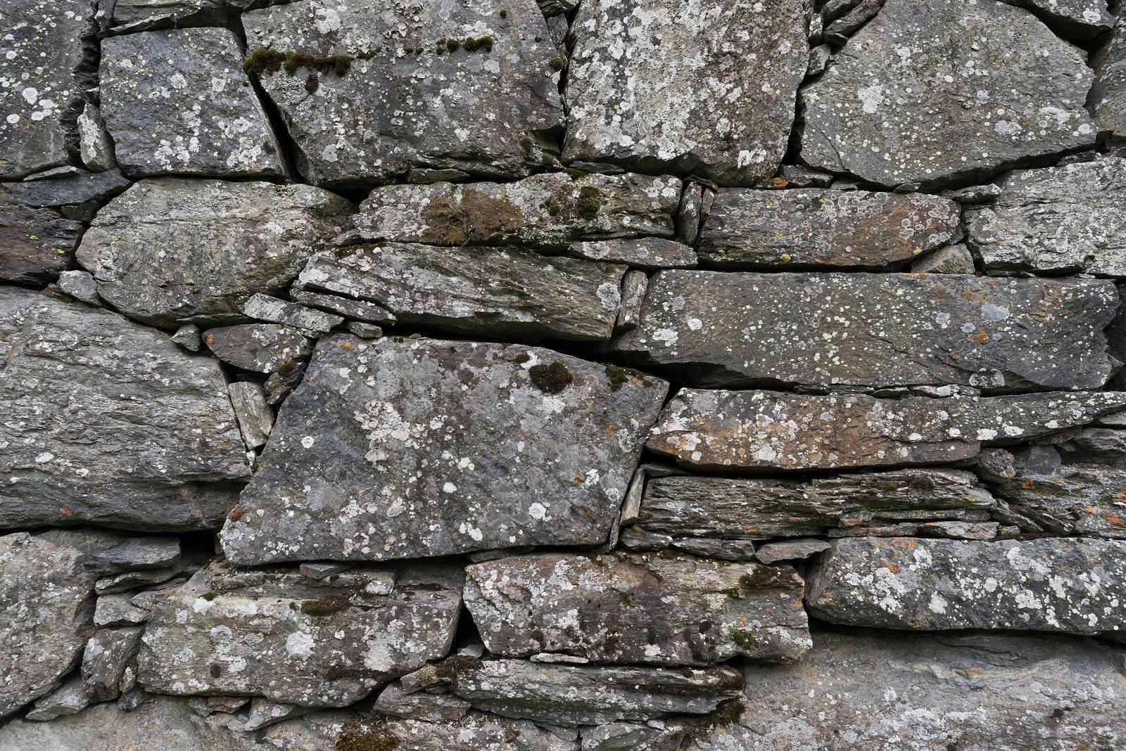 Old stone foundation. Texture of masonry