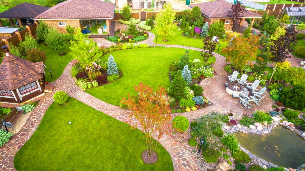 residential fine landscape